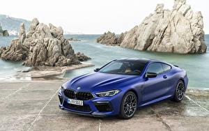 Hintergrundbilder BMW Blau  Autos