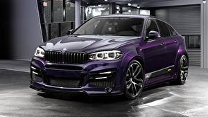 Picture BMW Tuning Violet CUV CLR Lumma Design X6R automobile