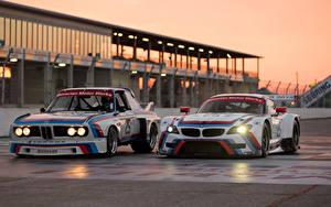 Bilder BMW Zwei Z4 GTLM 3.0 CSL race car Autos