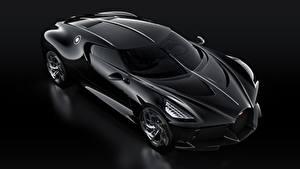 Hintergrundbilder BUGATTI Schwarz Schwarzer Hintergrund La Voiture Noire Autos