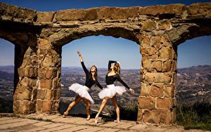 Desktop wallpapers Ballet Dance 2 Arch female