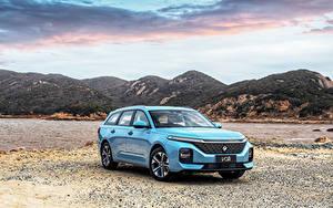 Bilder Baojun Kombi Hellblau Metallisch Chinesisch Valli, 2021 auto