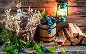 Fotos Fass Weintraube Wein Bretter Laterne Weinglas Ähre Lebensmittel