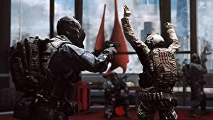 Hintergrundbilder Battlefield 4 Soldaten Pistolen Russische Spiele 3D-Grafik