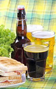 Bilder Bier Butterbrot Trinkglas Flasche Lebensmittel