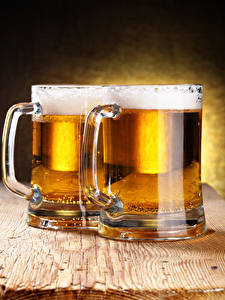 Bilder Bier Bretter Becher 2 Schaum Lebensmittel