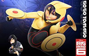 Bilder Helm Big Hero 6, Gogo Tomago