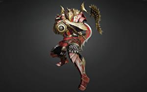 Hintergrundbilder Schwarze Wüste Online Krieger Masken Rüstung Helm Varvar (Tantu) computerspiel Fantasy