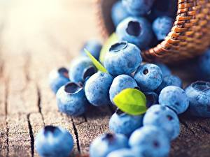 Picture Blueberries Closeup Food