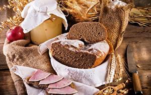 Bilder Brot Schinken Ähre Lebensmittel