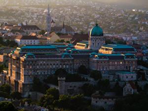 Bilder Budapest Ungarn Haus Burg