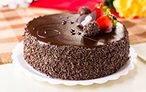 Fotos Torte Schokolade Großansicht