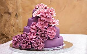 Hintergrundbilder Torte Design Violett