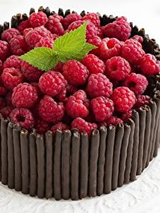 Fotos Torte Himbeeren Schokolade