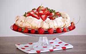 Hintergrundbilder Torte Erdbeeren Design Die Sahne