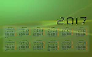 Hintergrundbilder Kalender 2017 Russische