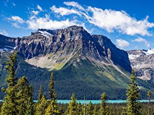 Fotos Kanada Park Gebirge See Banff