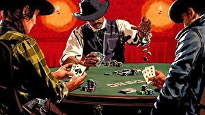 Fotos Spielkarte Red Dead Redemption Tisch Der Hut 2 Poker