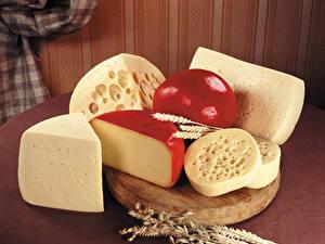 Hintergrundbilder Käse Schneidebrett Ähren Lebensmittel