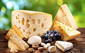 Desktop hintergrundbilder Käse Weintraube Schalenobst das Essen