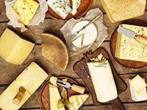 Bilder Käse Bretter Schneidebrett