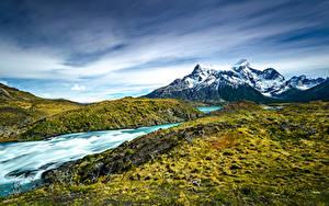 Fotos Chile Berg Park Torres del Paine National Park, Patagonia