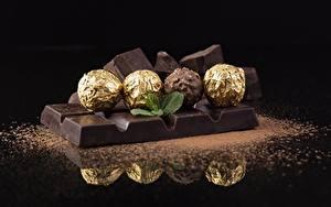 Bilder Schokolade Schokoladentafel Bonbon Kugeln das Essen