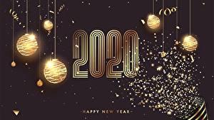 Bilder Neujahr 2020 Kugeln