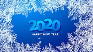 Bilder Neujahr 2020 Englischer Schneeflocken