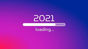 Bilder Neujahr 2021 Farbigen hintergrund