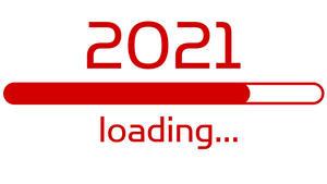 Hintergrundbilder Neujahr 2021 Weißer hintergrund