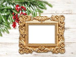 Bilder Neujahr Beere Vorlage Grußkarte Bretter Ast