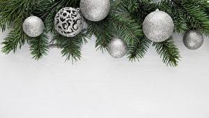 Hintergrundbilder Neujahr Ast Kugeln Vorlage Grußkarte