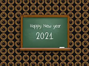 Bilder Neujahr Zifferblatt 2021 Wort Englisches