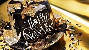 Hintergrundbilder Neujahr Großansicht Der Hut Englisch