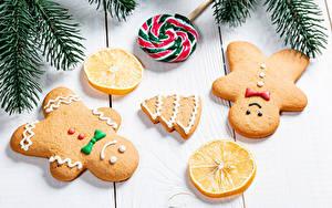 Hintergrundbilder Neujahr Kekse Zitrone Dauerlutscher Bretter Ast Design Weihnachtsbaum Lebensmittel