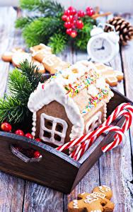 Hintergrundbilder Neujahr Backware Gebäude Süßware Design Lebensmittel