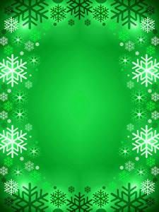 Fotos Neujahr Schneeflocken Farbigen hintergrund Vorlage Grußkarte