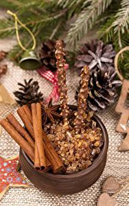 Hintergrundbilder Neujahr Süßigkeiten Zimt Sternanis Lebensmittel