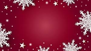 Hintergrundbilder Neujahr Vorlage Grußkarte Schneeflocken