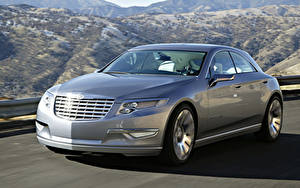 Обои Chrysler Едущий Серый Металлик Nassau Concept 2007 машина