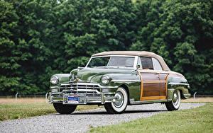 Wallpapers Chrysler Retro Metallic Green 1949 Town
