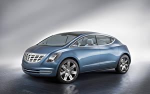 Fotos Chrysler Metallisch Seitlich ecoVoyager Concept, 2008 Autos