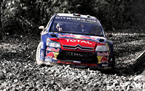 Bilder Citroen Fahrzeugtuning Steine Vorne Rallye C4 WRC Autos Sport