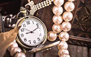 Image Clock Pocket watch Pearl