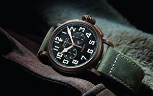 Bakgrundsbilder på skrivbordet Klocka Armbandsur Närbild Zenith Pilot Type 20 Extra Special Chronograph