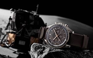 Fonds d'écran Horloge Montre bracelet Omega, NASA, Apollo 11, Wrist Watch, Speedmaster Professional