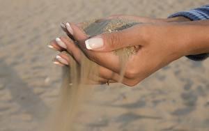 Hintergrundbilder Großansicht Hand Sand Maniküre
