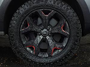Bilder Großansicht Land Rover Rad Schlamm Discovery 4x4 2017 V8 SVX 525 Autos