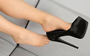 Hintergrundbilder Großansicht Bein Stöckelschuh Strumpfhose Mädchens